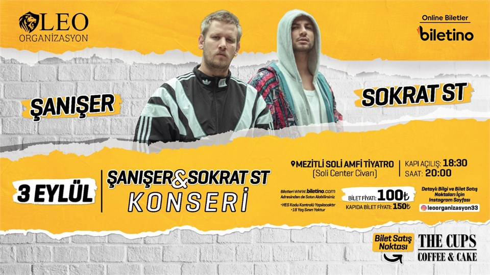 ŞANIŞER & SOKRAT ST KONSERİ