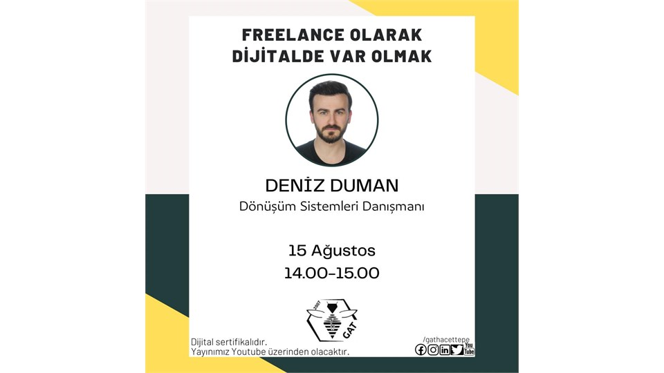 Freelance Olarak Dijitalde Var Olmak