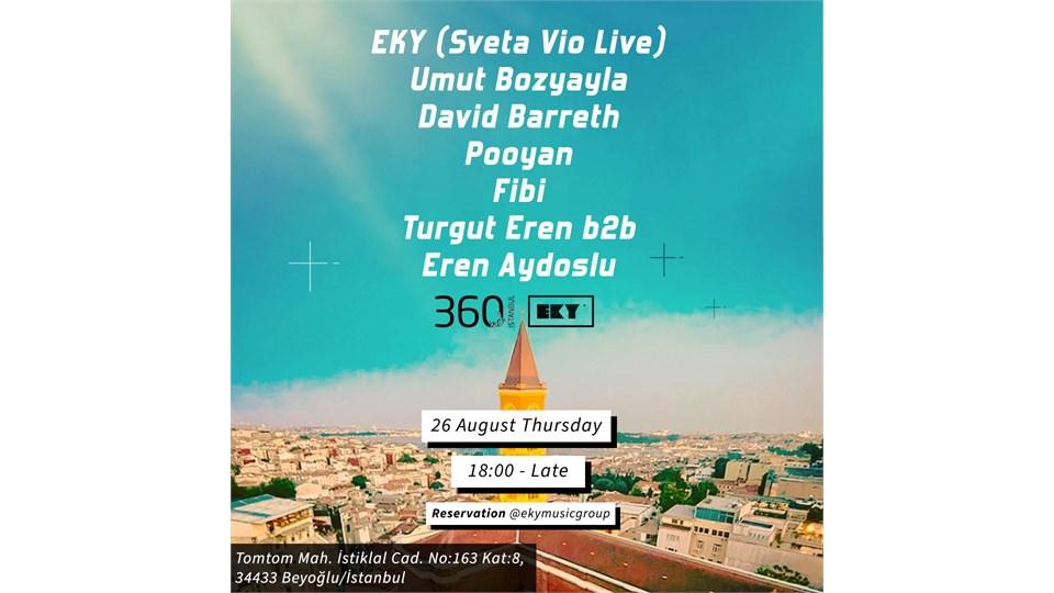 EKY Music Group | 360 Istanbul