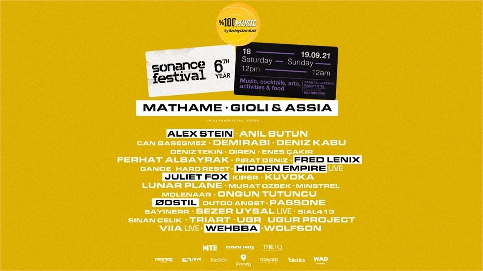 Sonance Festival 2021 / Patalya Lakeside Resort