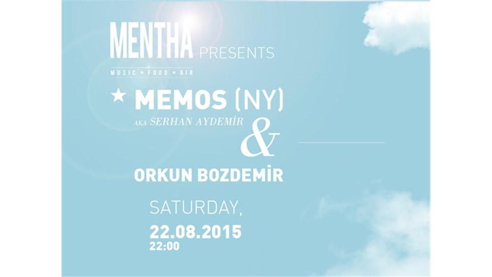 MENTHA presents: MEMOS (NY) ★ ORKUN BOZDEMİR
