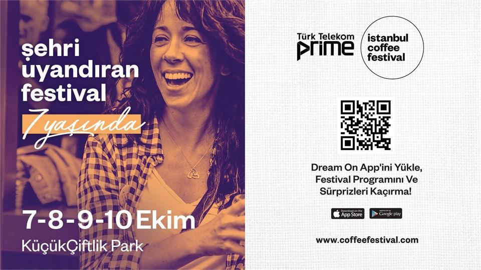 İstanbul Coffee Festival 2021 @Küçükçiftlik Park