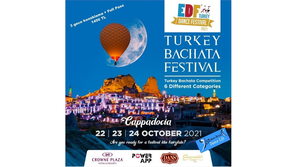 Kapadokya Bachata Dans Festivali