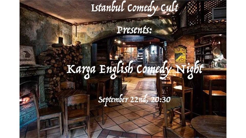Istanbul Comedy Cult Presents: Karga English Comedy Night