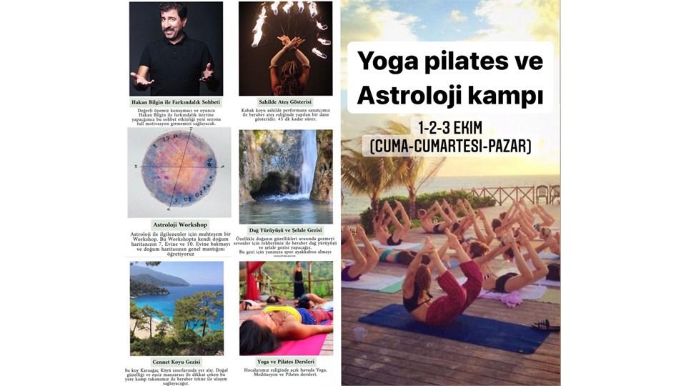 Simyfit Kabak Koyu Yoga Pilates ve Astroloji Kampı