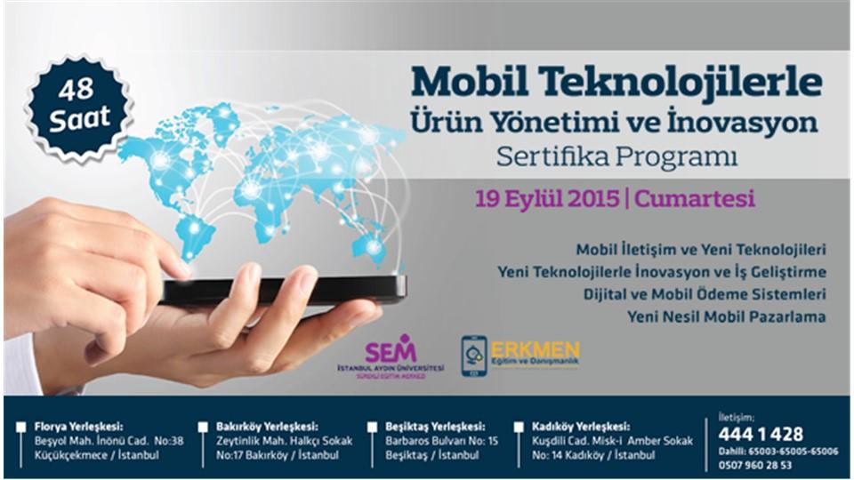 Mobil Teknolojilerle Ürün Yönetimi ve İnovasyon