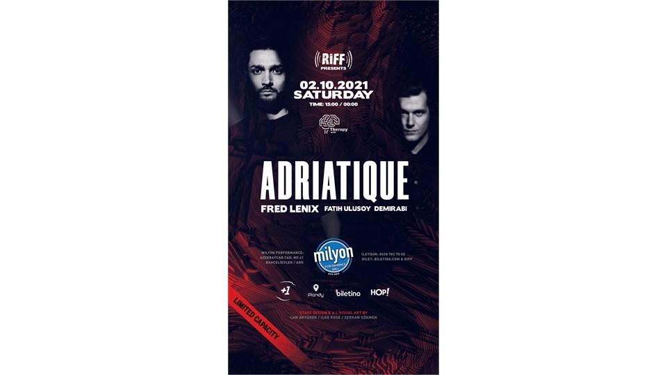 Riff & Therapy : Adriatique