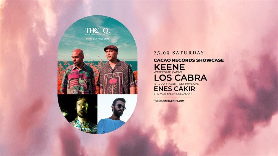 The Q Proudly Presents | KEENE - LOS CABRA - ENES ÇAKIR