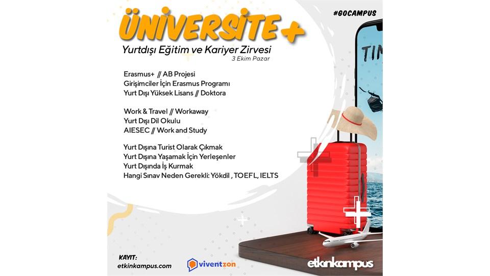 Üniversite + Yurtdışı Eğitim ve Kariyer Zirvesi