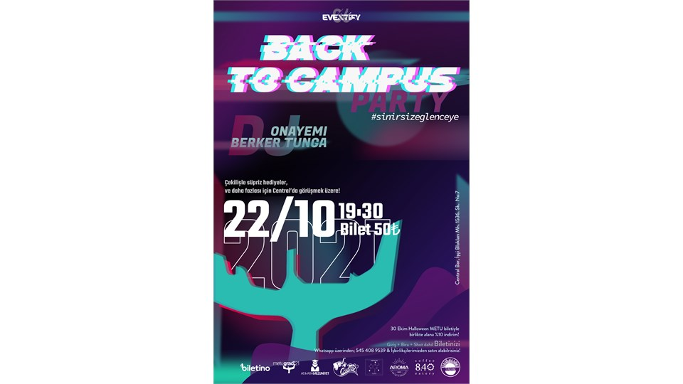 Back To Campus Party