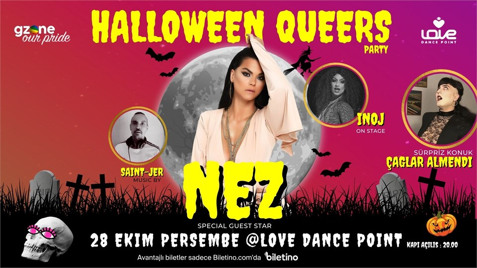 Halloween Queers Party with NEZ (GZone Our Pride)