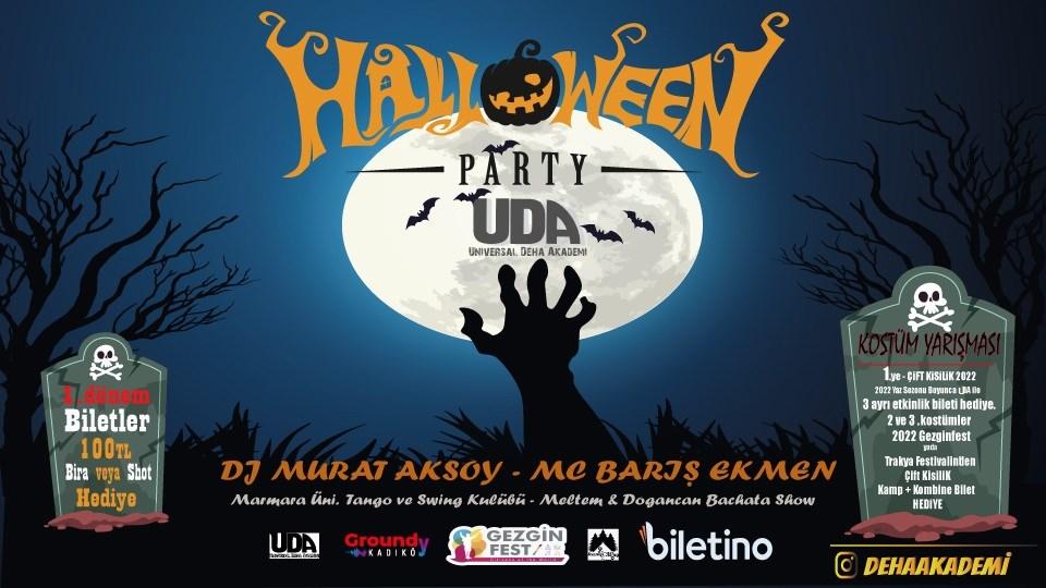 Halloween Party - UDA - Kadiköy Groundy