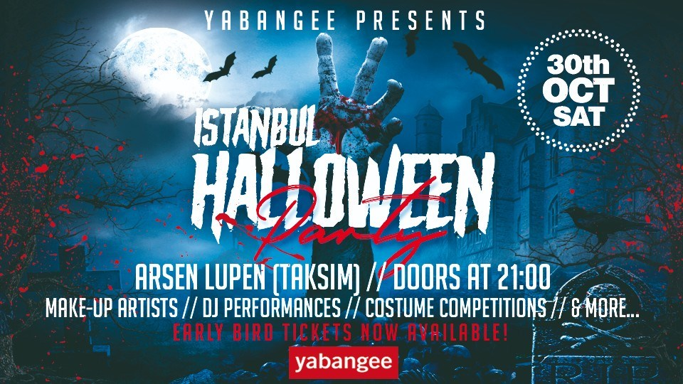 Halloween Party Istanbul 2021