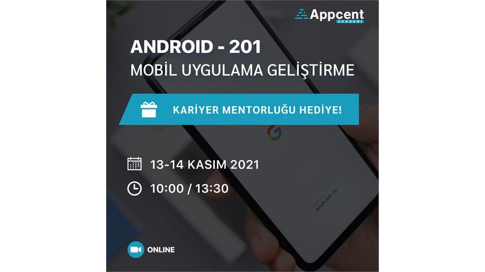 Android 201 Mobil Uygulama Geliştirme