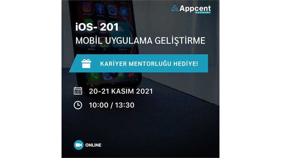 iOS 201 Mobil Uygulama Geliştirme