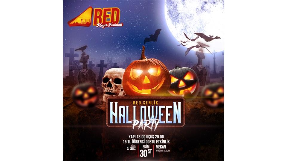 Red Şenlik Hallowen Party!