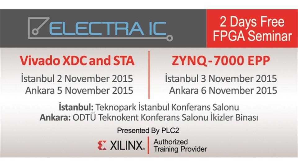ELECTRA IC FPGA Seminar - İstanbul