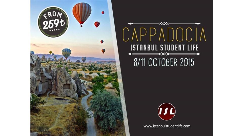 Cappadocia Trip by ISL for Izmir-Ankara-Sakarya-Eskişehir