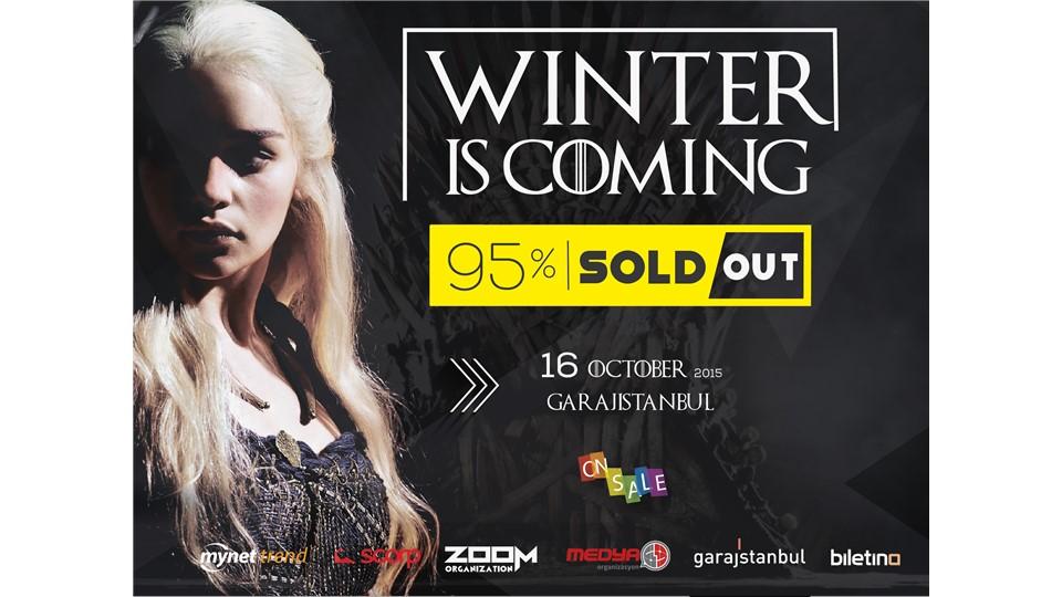 WINTER IS COMING @garajistanbul