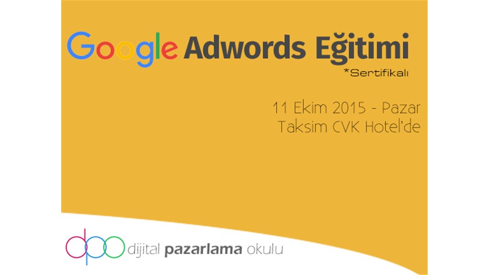 Google AdWords Eğitimi