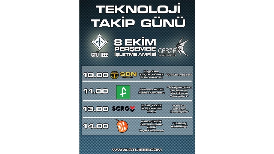 Gebze Teknik Üniversitesi IEEE Teknoloji Takip Günü