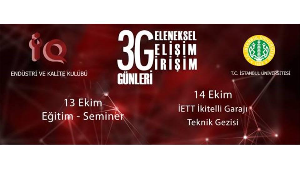 VI.3G Günleri - İETT İkitelli Garajı Teknik Gezisi