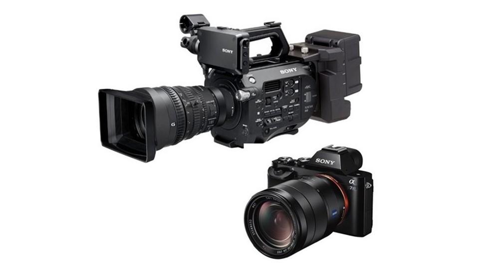 Sony A7s ve PXW-FS7 atölyesi