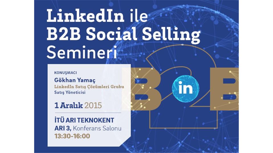 LinkedIn ile B2B Social Selling Semineri