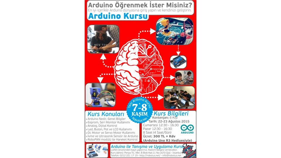 7-8 Kasım Arduino Kursu