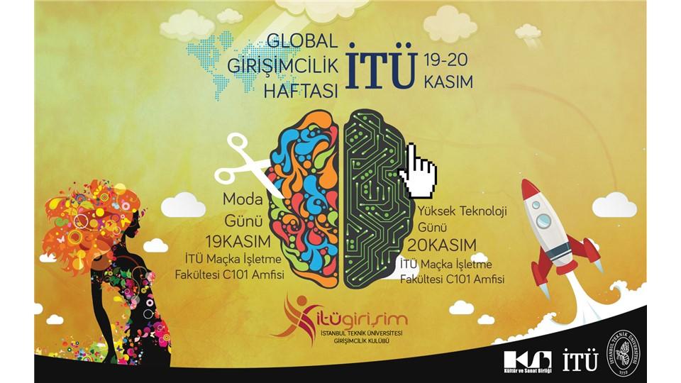 Global Girişimcilik Haftası İTÜ