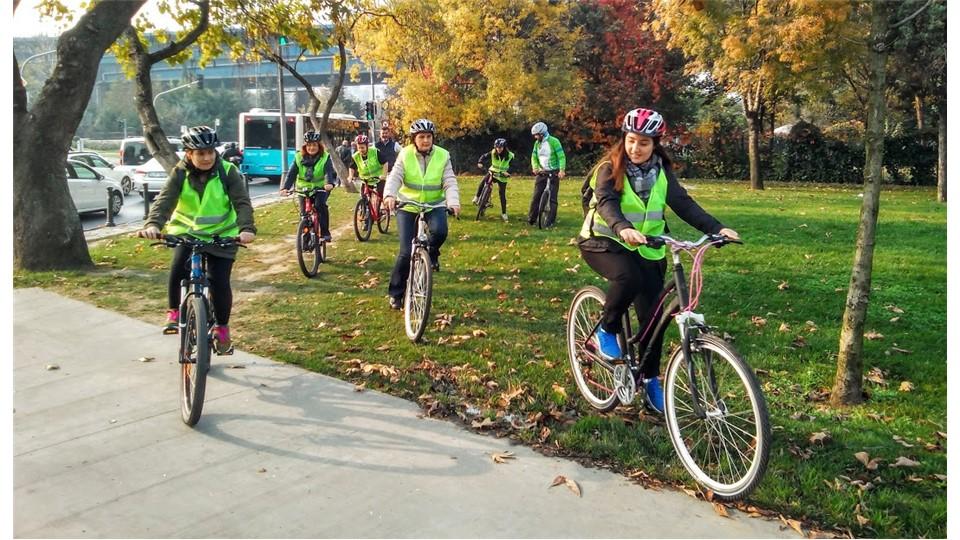Haliç Bisiklet Turu