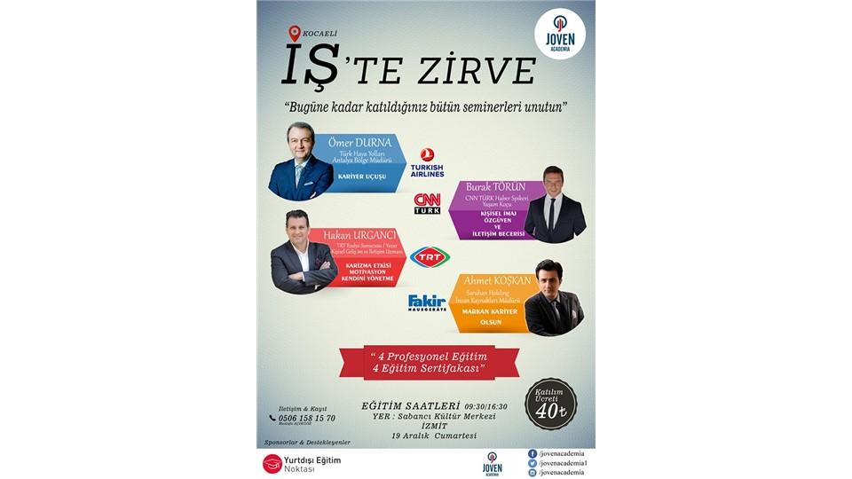 İŞ'TE ZİRVE KOCAELİ - 4 PROFESYONEL SERTİFİKA