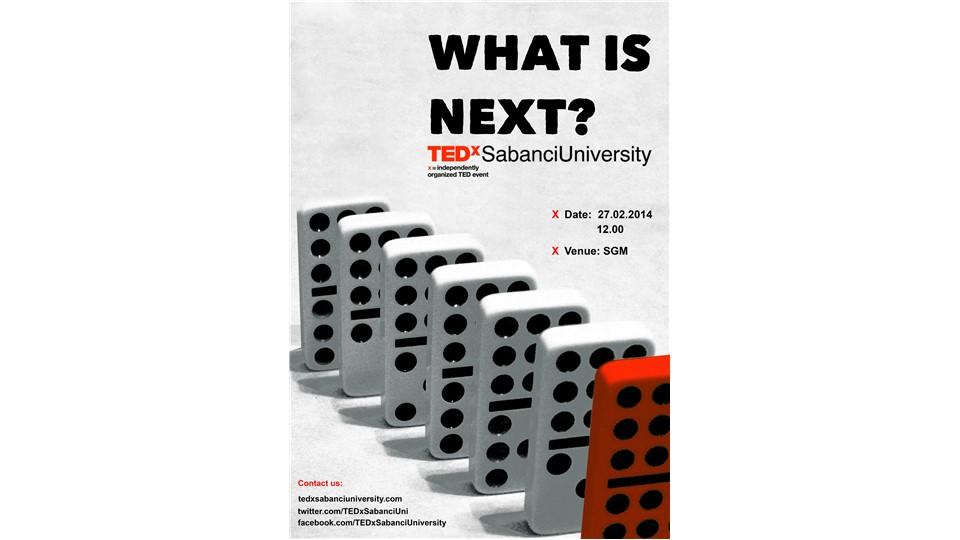 "TEDxSabanciUniversity '14 -  ""What is Next?"""
