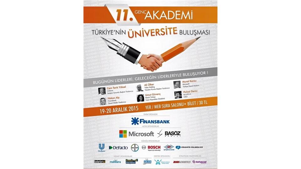 11. Genç AKADEMİ Türkiye'nin Gençlik Buluşması