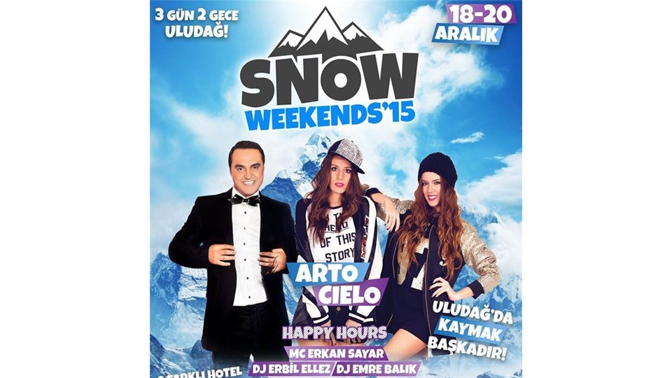 Snow Weekends'15 Uludağ