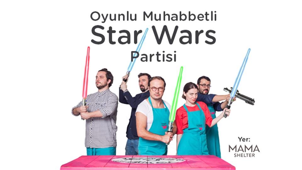 Oyunlu Muhabbetli Star Wars Partisi