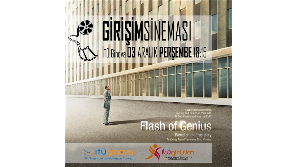 Girişim Sineması: Flash of Genius