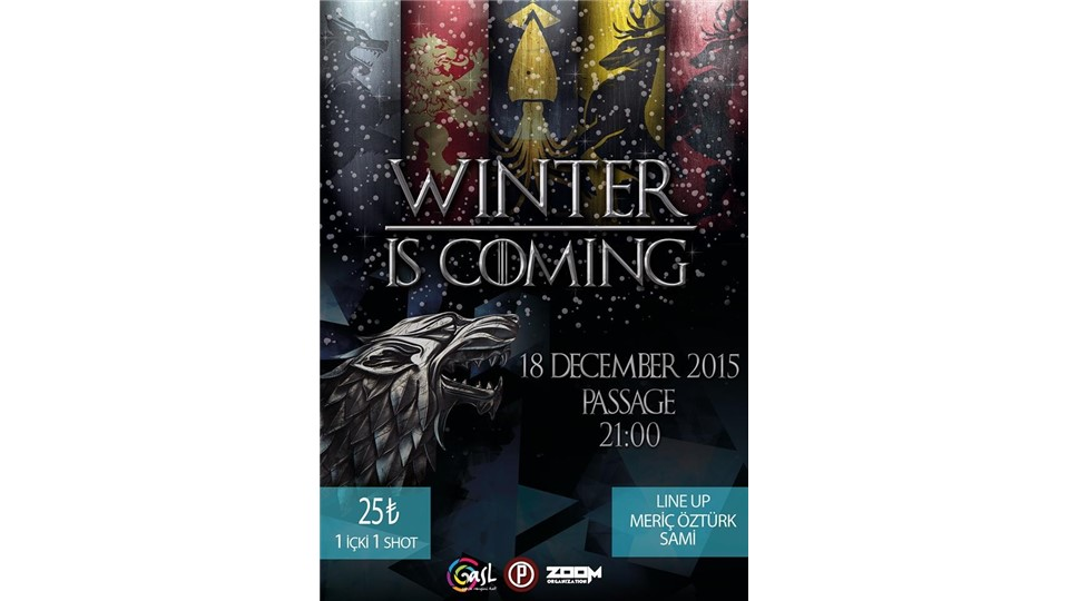 Winter İs Coming !