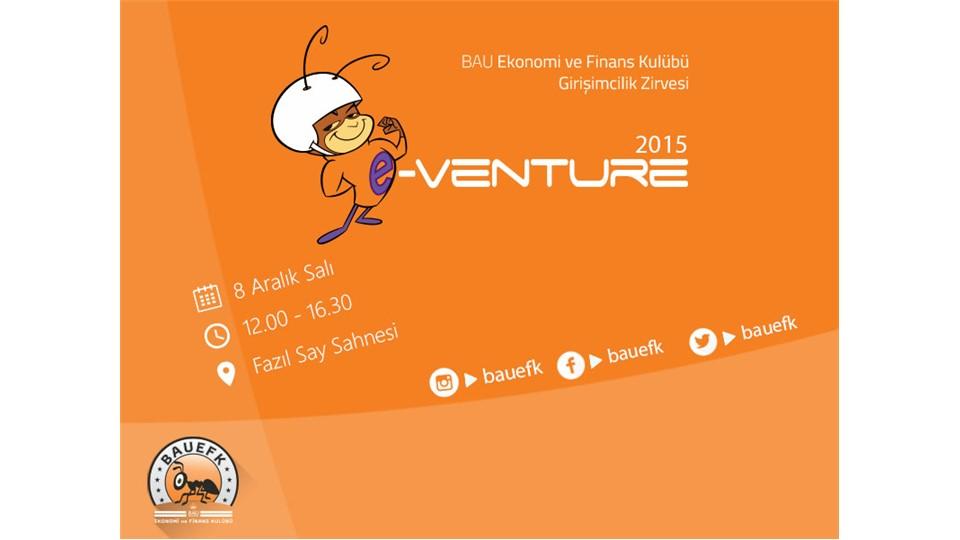e-Venture Girişimcilik Zirvesi '15