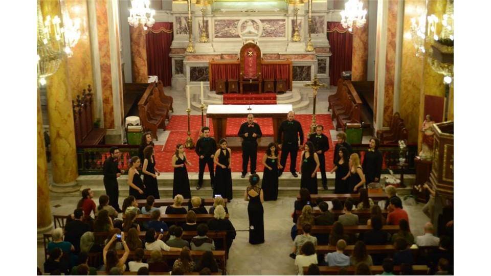Chromas': Koro Christmas Konseri | Santa Maria Draperis Kilisesi