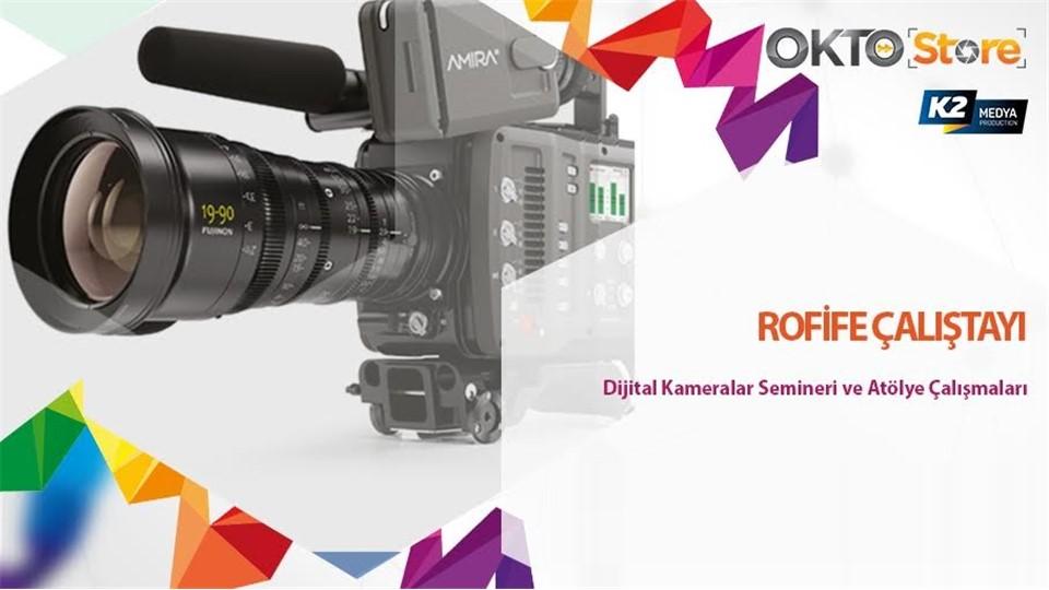 Oktostore Dijital Sinema Kameraları Etkinliği - Mersin