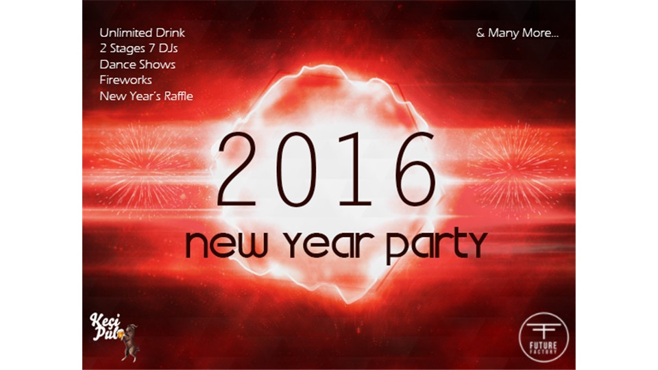 New Year's Eve 2016 Party @Keçi