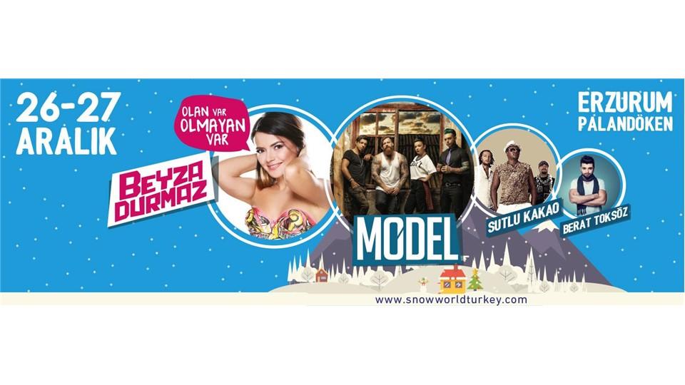 Snowworld Turkey 2015 Konaklamalı Festival Paketi //Erzurum Palandöken