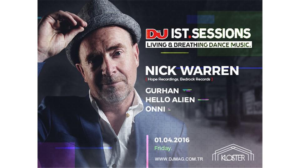 DJ Mag IST Sessions : Nick Warren