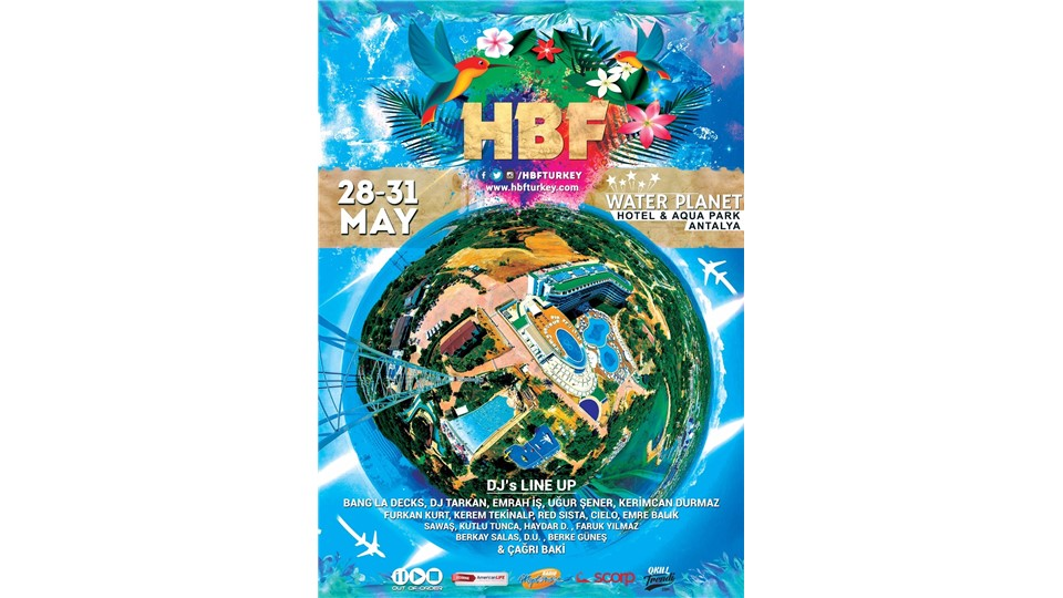 HBF 2016 l Water Planet Antalya l 28 - 31 Mayıs l