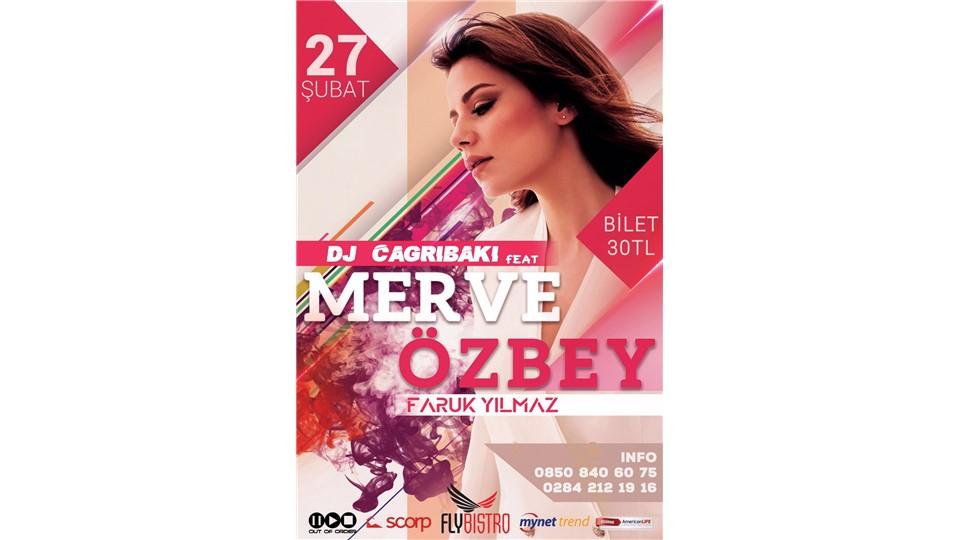 Merve Özbey / Edirne Fly Pub / 27 Şubat Cumartesi