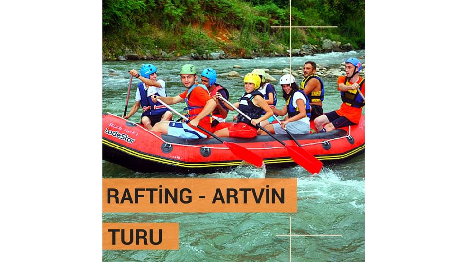 TuruncuGezi RAFTİNG - ARTVİN TURU ( 23 Nisan 2016 )