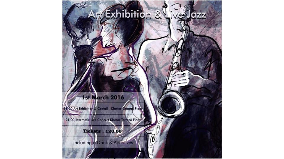 Art Exhibition & Live Jazz @Kloster