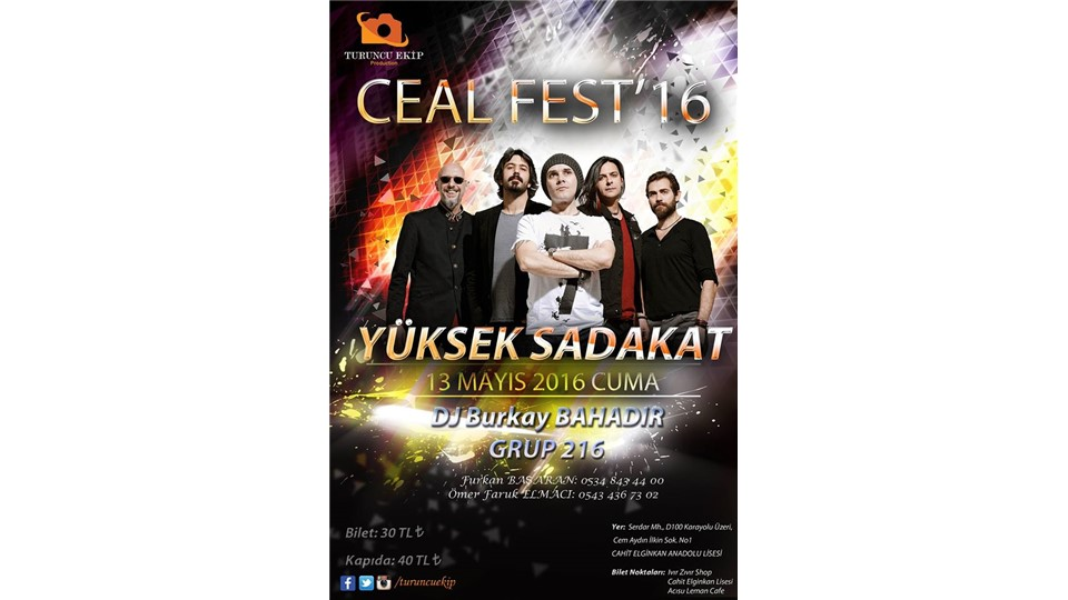 CEAL FEST'16 (Yüksek Sadakat)