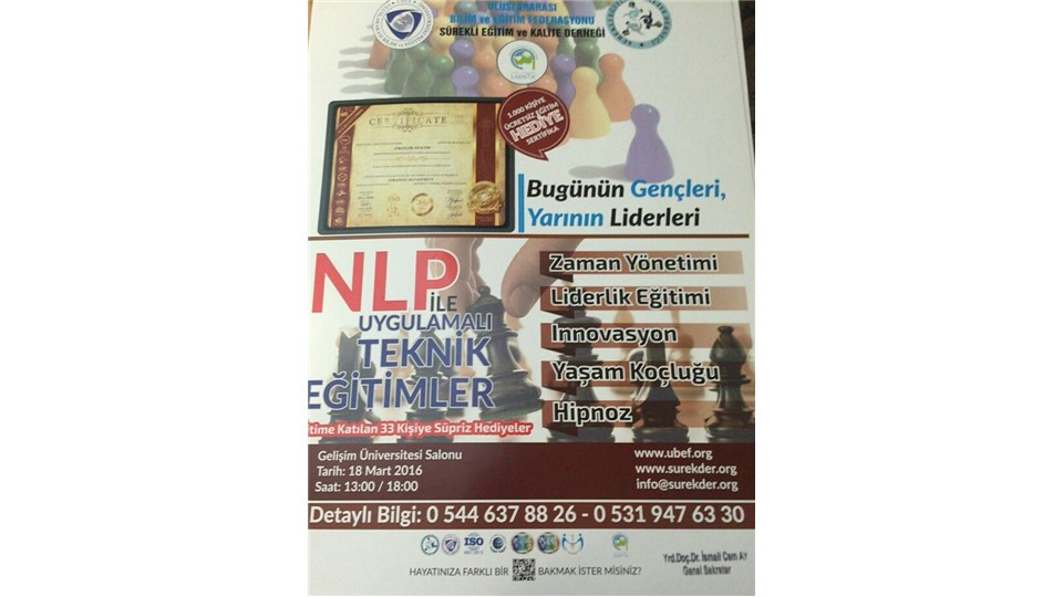 İstanbul Gelişim Üniversitesi Bugünün Gençleri Yarının Liderleri Sertifika Programı